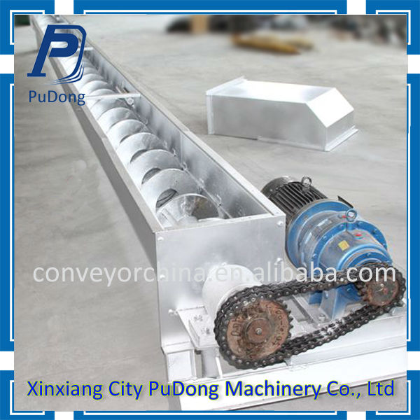 High quality screw conveyor for chocolate bars from China