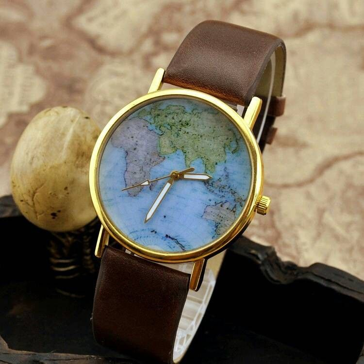 World map watch leather ion silicone wrist watch band strap buy qq20131211141015 gumiabroncs
