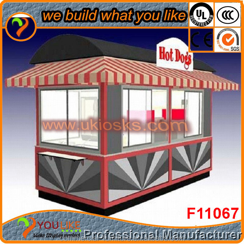 Made in China outdoor wooden coffee kiosk,outdoor fast food