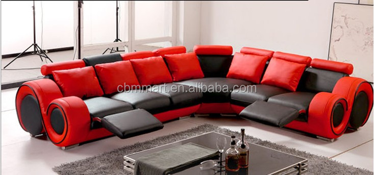 red leather recliner sofa/quilted leather sofa, View red leather recliner  sofa, CBMMART Product Details from Cbmmart Limited on Alibaba.com
