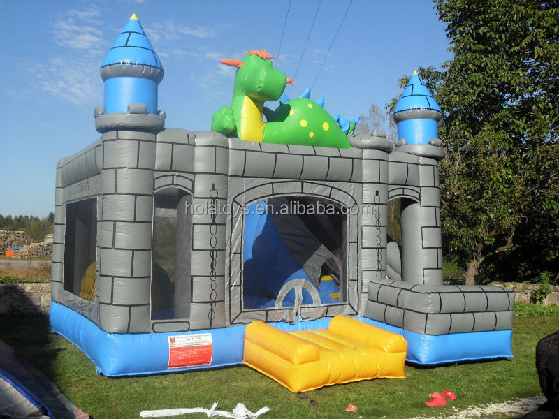 Hola inflatable bouncers for kids/inflatable bouncy castle/adult bounce house