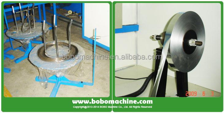 Spiral aluminium flexible duct forming machine