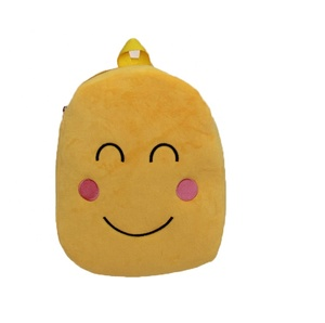 Creative Shy Face School bags Emoji School bags travel bagpack for kids