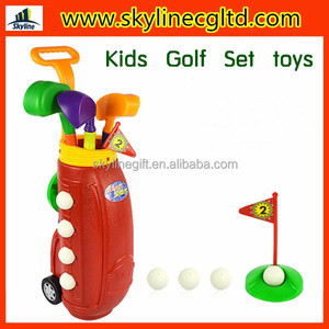 High quality golf toys,kids golf set toy,plastic golf club toy