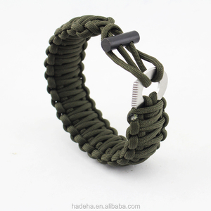2018 Outdoor Paracord Survival Bracelet With Compass