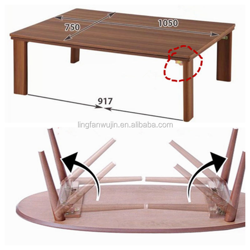 90 Degrees Self Lock Folding Table Legs Hinge, Folding Table Hinge
