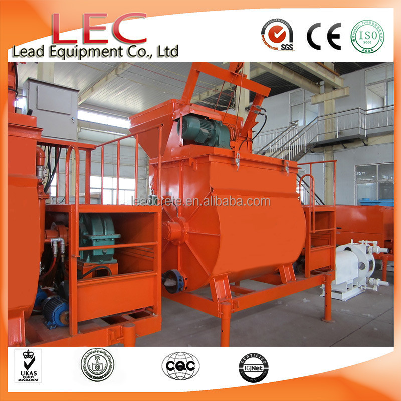 Output 10m3/h LD20 Fly Ash Lightweight Foam Concrete Block Making Plant