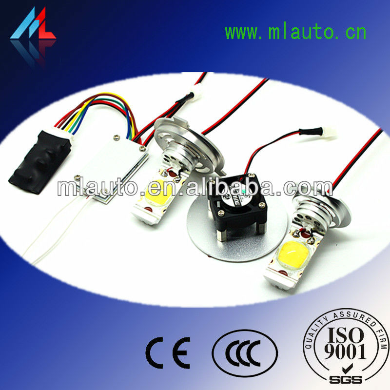Hot selling led auto headlight with Original 22W SAMSUNG chip 1200 Lumen with 50000hours lifespan h7 led headlight