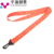 Company logo special custom polyester collar band with id card lanyard