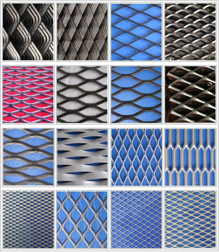 Globond Aluminum Expanded Metal Mesh/ Perforated Metal Mesh - Buy ...