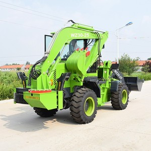 2.5 TON BACKHOE LOADER MODEL WZ30-25 BACKHOE LOADER