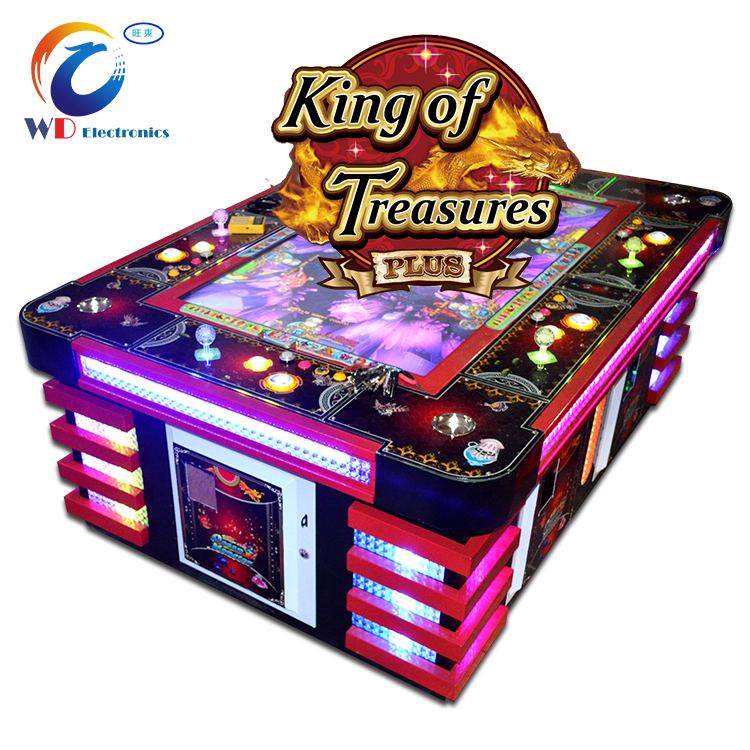 new mermaid shooting fish game arcade slot casino machine in night club