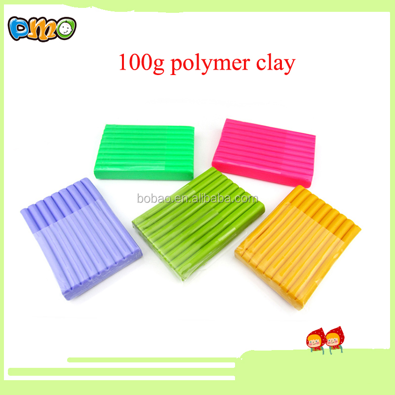 Eco-friendly Material different colors accept OEM polymer clay