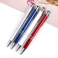 Hot sale advertising latest promotional pens with logo printed metal ball pen for promotion