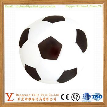 Plush Soccer Ball Shape Pillow