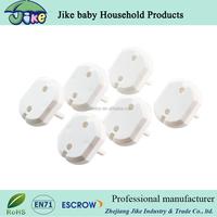 child safety plastic electrical plug socket protector of European standard socket