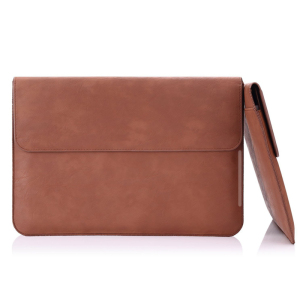 Laptop Sleeve Bag PU Leather Protect Notebook Case Laptop Envelope Bag For 13 inch Mackbook Pro
