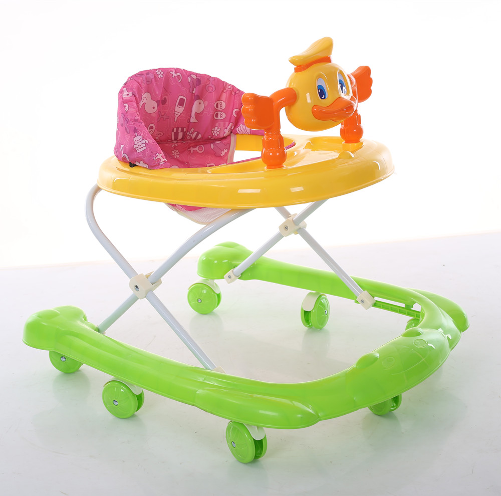Alibaba china factory hot sale cheap price plastic educational toy learn baby walker