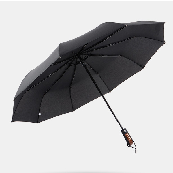 auto open and close three compact 3 fold umbrella