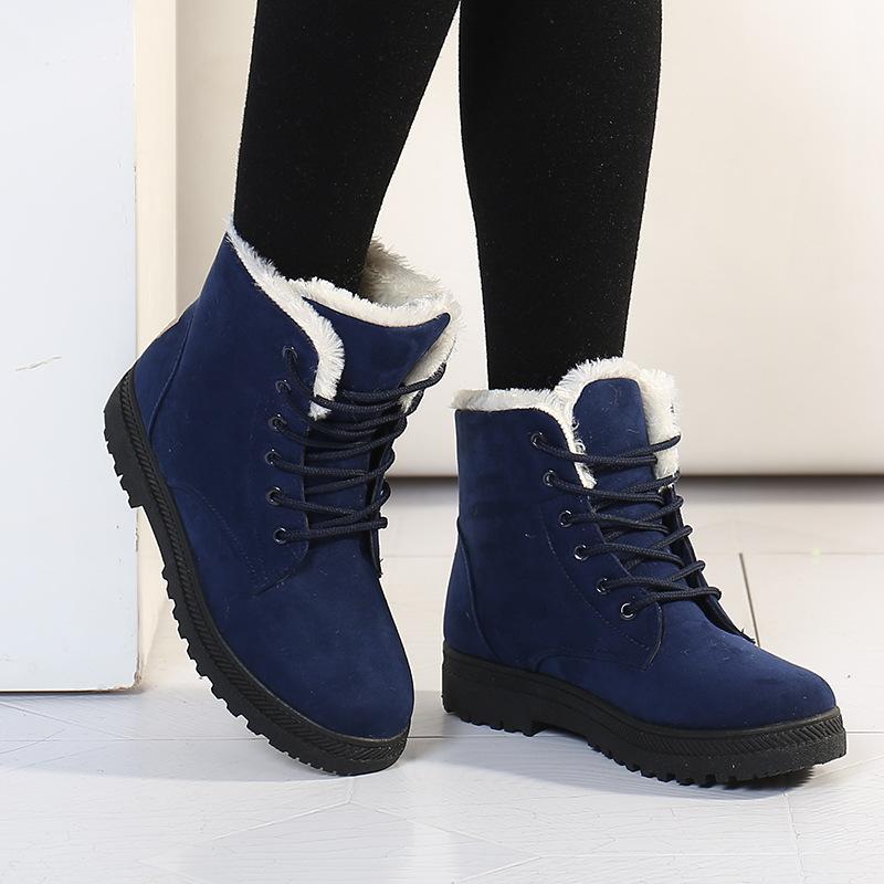 c28df632e79 Botas femininas women boots 2019 new winter boots women shoes warm ...