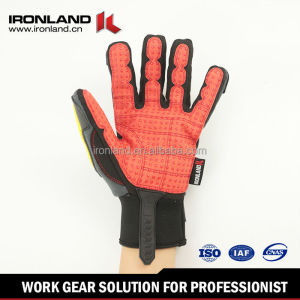 Promotional customized mesh stretch spandex 3m gloves