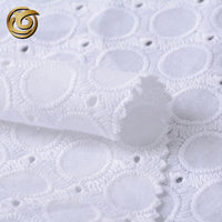Fancy Wedding Dress Soft Swiss Voile 100% Cotton Fabric Lace
