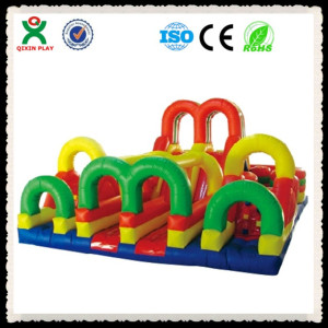 indoor kids entertainment hide and see inflatable bouncer play area toys(QX-115F)