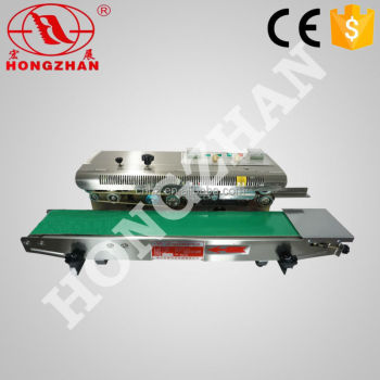 Hongzhan CBS low price durable continuous belt Automatic packet sealing machine