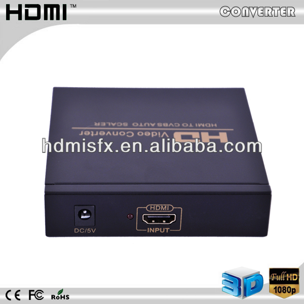 high quality Hdmi to rca converter box hdmi to av out