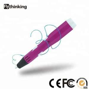 Flythinking 3d printer pen for kid 3d pen toy 3d drawing pen printing for PLA ABS 3d filament