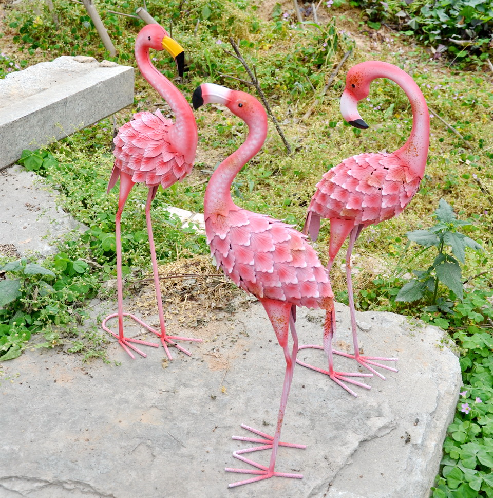 Pink Flamingo Garden Ornaments, Pink Flamingo Garden Ornaments ...