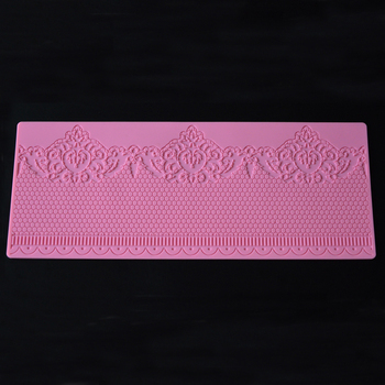 Pastry Baking Mould Sugar Paste Silicone Cake Lace Mold