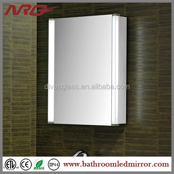 Best Selling LED Lighting medicine glass bathroom cabinet