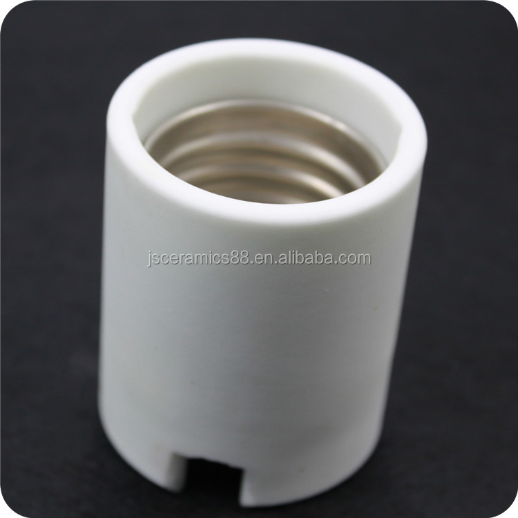 high performance ceramic lamp base lamp cap E40 steatite ceramic lamp socket