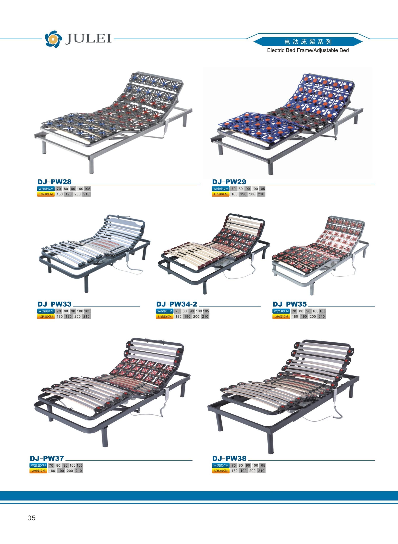 Comodidad De Lujo Muebles De Dormitorio Ajustable Eléctrica Listones ...