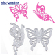 wedding decoration gift back to school style paper butterfly metal cutting dies