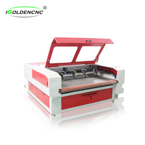 150w co2 laser tube fabric/cloth laser cutting machine sawing machines for cloths