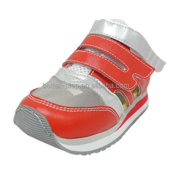 43508afb7 الصيف الاطفال الطبية الراحة والجلود أحذية العظام في نمط الرياضة ...
