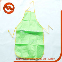 High Quality PVC Waterproof Children cookie apron bib apron