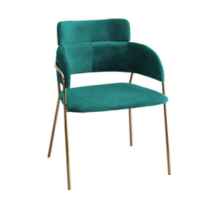 Cheap new style living room modern colorful leisure velvet arm chair imported from china