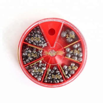 PALADIN Best Wholesale Fishing Lead Sinkers / Weights in Red Box Assortments