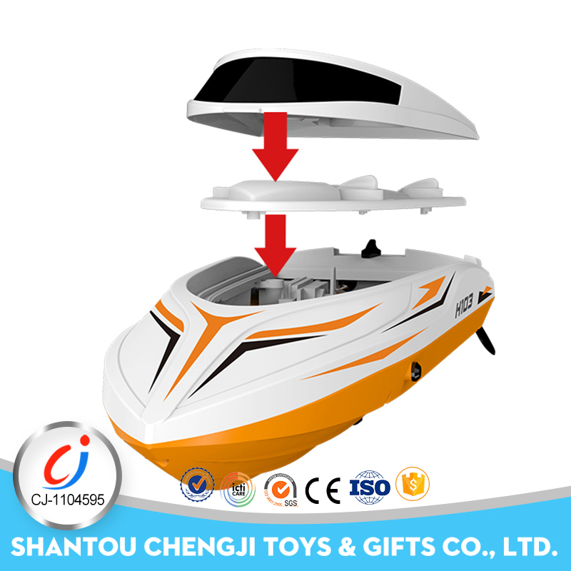 2.4G 4 ch electric big racing model rc boat brushless
