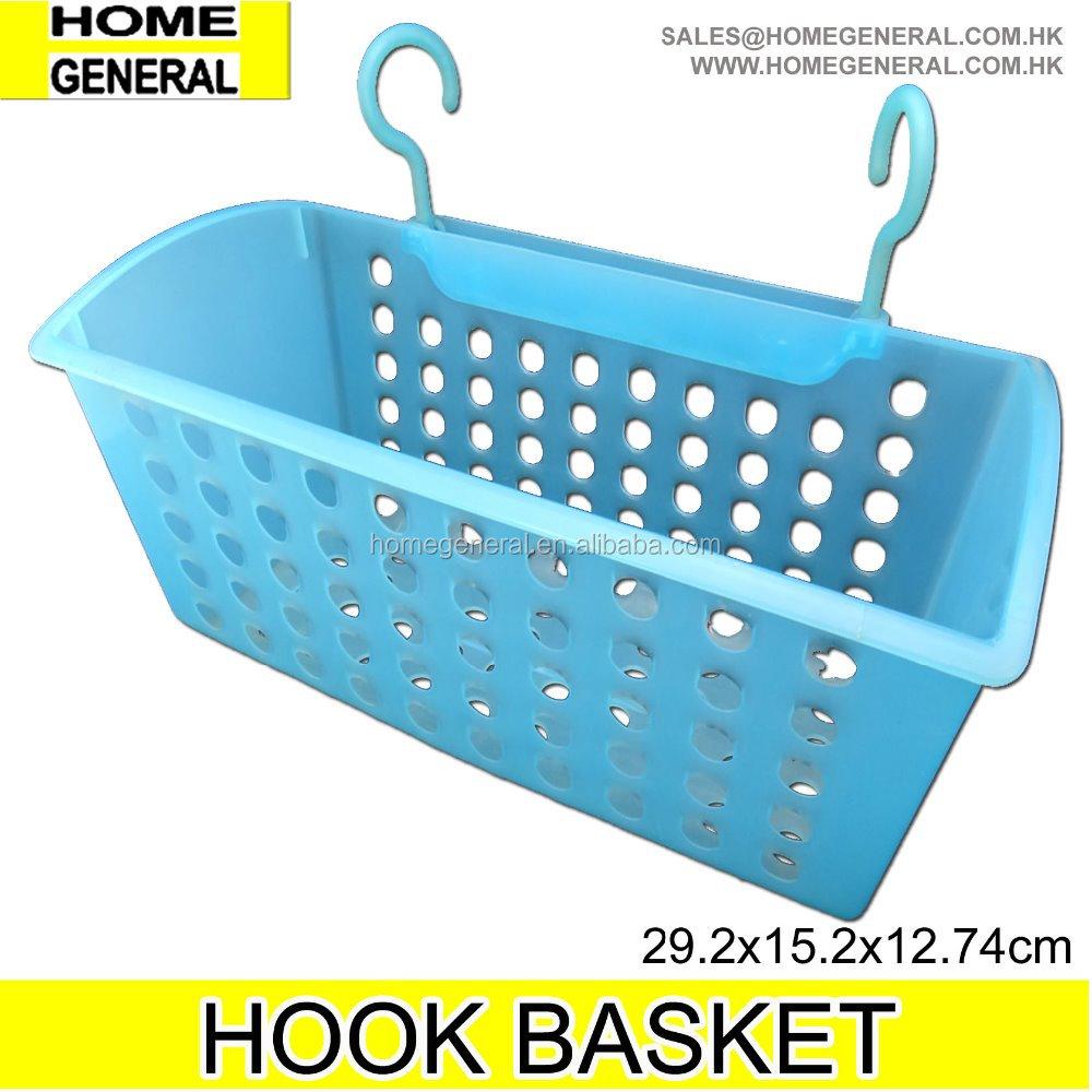 Hook Hanging Shower Basket - Buy Plastic Hanging Baskets,Small ...