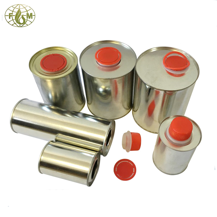 automotive lubricant oil packing tin container for sale
