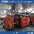 PE hollow plastic outdoor chair extrusion blow molding machine
