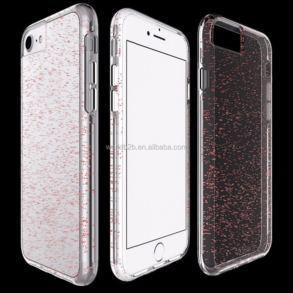 2018 New mobile accessories Colourful luxury starry sky TPU phone covers case for iphone 8