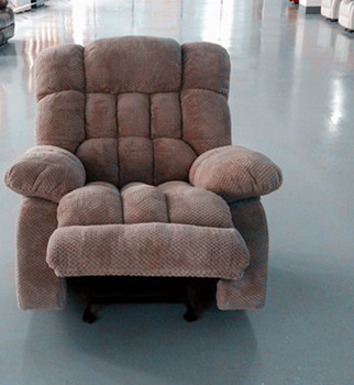 Sectional Sofa One Seater Design Style Fabric Material Recliner