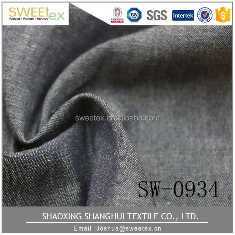 Unique products to buy DENIM YARD DYE 32*32 140*60 polished cotton fabric