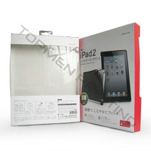 Modische iPAD Fall Papier Verpackung <span class=keywords><strong>Box</strong></span> Mit Pvc-fenster