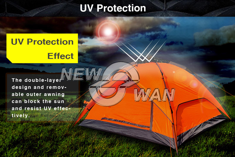 Cheap Price Outdoor Camping Tent For 2-3 Person